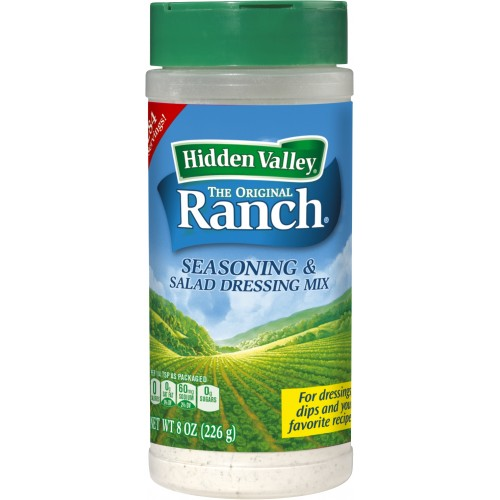 Hidden Valley Original Ranch Salad Dressing & Seasoning Mix, Gluten Free, Keto-Friendly - 1 Canister