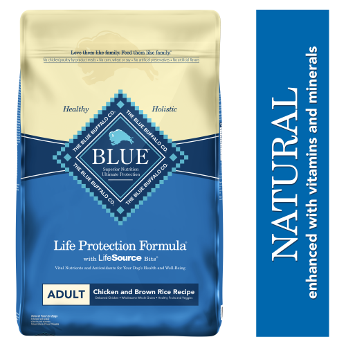 Blue Buffalo Life Protection Formula Chicken and Brown Rice Adult Dry Dog Food, 30-lb