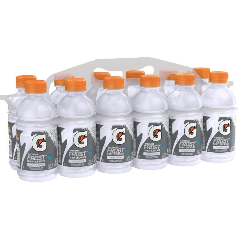 Gatorade Frost Thirst Quencher Sports Drink, Glacier Cherry, 12 fl oz
