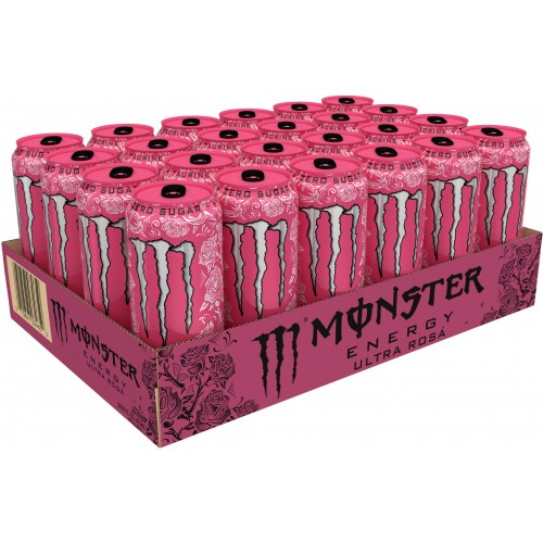Monster Energy Ultra Rosa, 16 fl oz x 24 cans