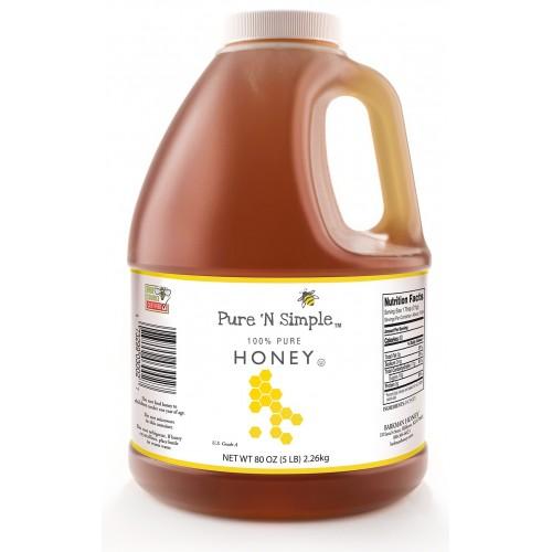 Pure 'N Simple Honey, 80 oz x 1 pack