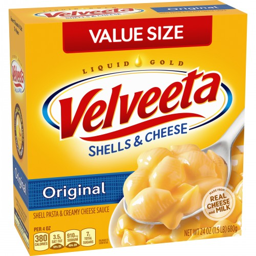 VELVEETA Shells and Cheese Original Flavor, 24 oz. x 1 Box