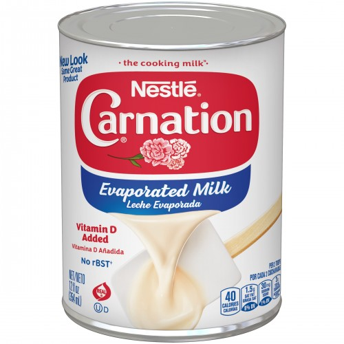 (6 pack) CARNATION Vitamin D Added Evaporated Milk, 12 fl oz x 6 cans