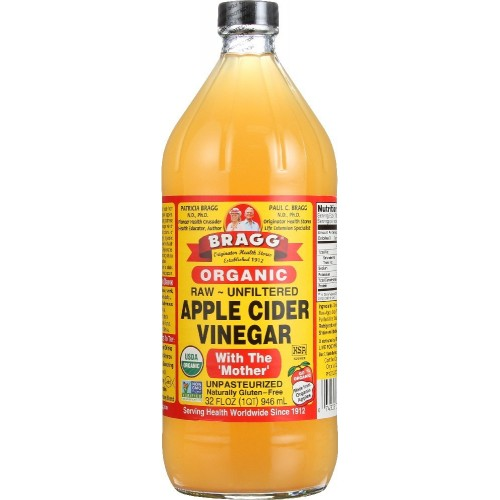 Bragg Organic Apple Cider Vinegar, Raw & Unfiltered, 32 Fl Oz x 1 bottle