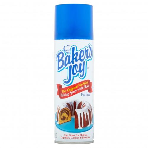 Baker's Joy The Original No-Stick Baking Spray with Flour, 5 oz x 3 bottles