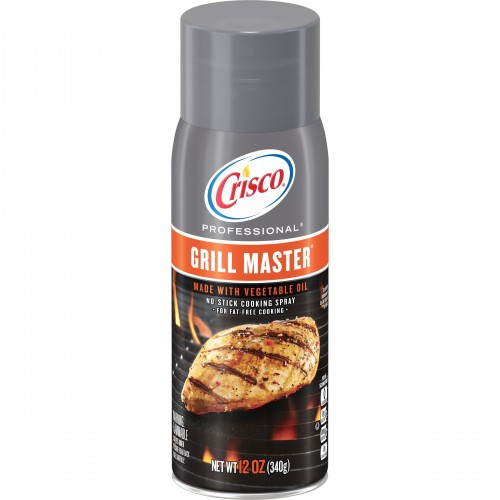 Crisco Professional Grill Master No-Stick Grill Spray, 12-Ounce x 1 bottle