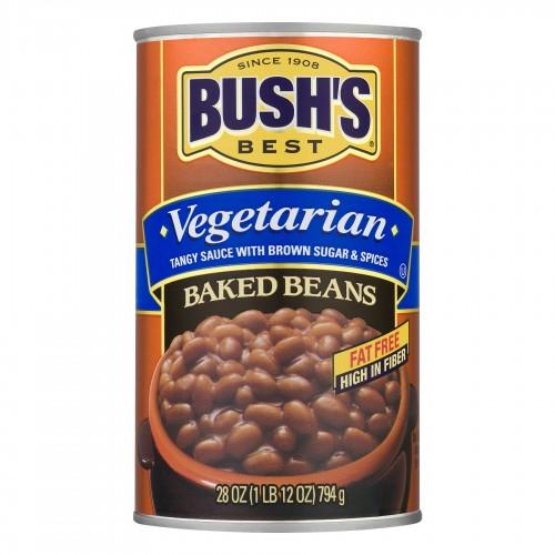 Bush's Best Vegetarian Baked Beans, 28 Oz x 4 cans