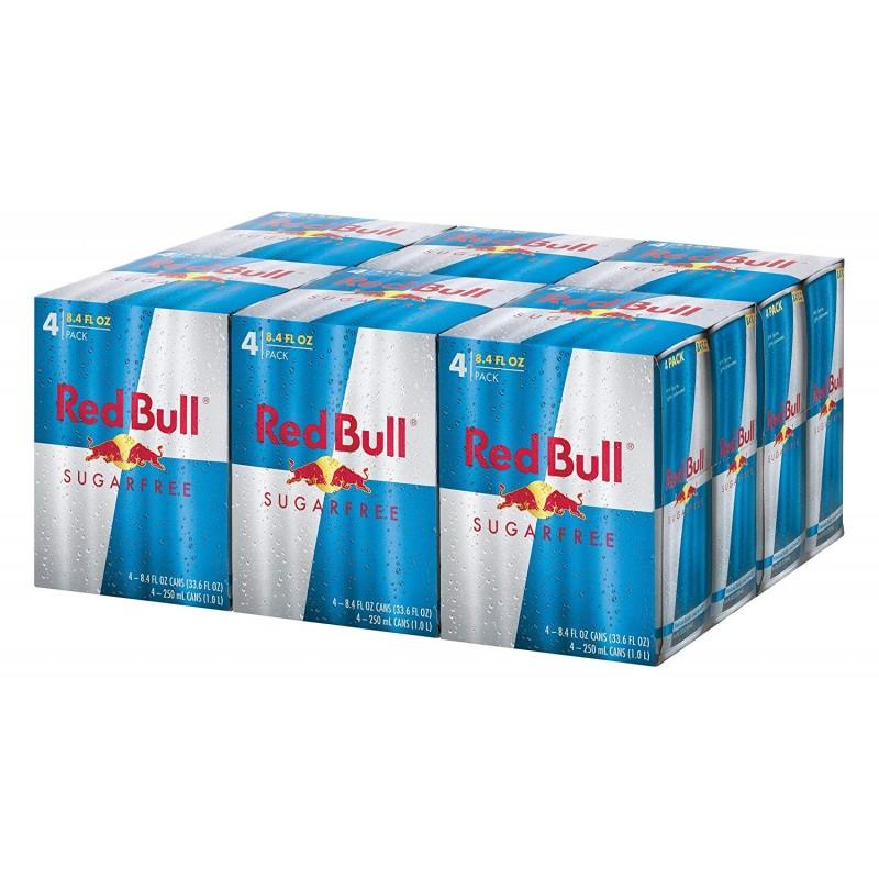 Red Bull Sugar Free Energy Drink, 8.4 fl oz x 24 cans