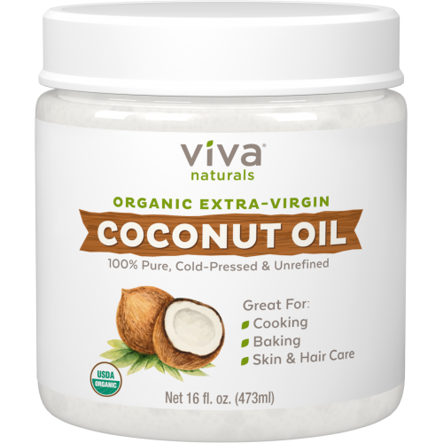 Viva Naturals Organic Extra Virgin Coconut Oil 16 fl oz x 1 piece