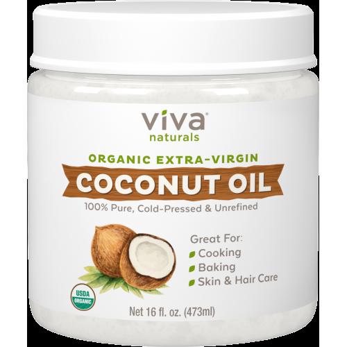 Viva Naturals Organic Extra Virgin Coconut Oil 16 fl oz x 1 piece