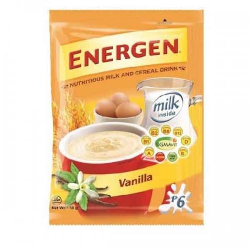 Energen Cereal Vanilla Drink 30g x 10 Pieces