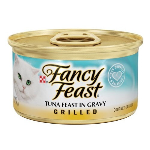 Fancy Feast Tuna Feast In Gravy Grilled