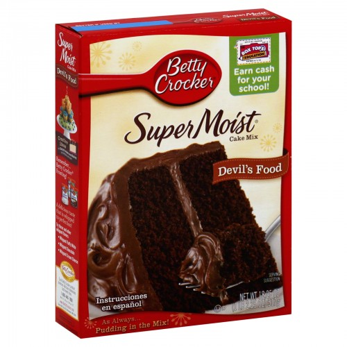 Betty Crocker Super Moist Cake Mix 512g x 1 Pack