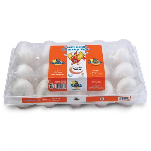 Saha Eggs 15 Eggs x 1 Pack