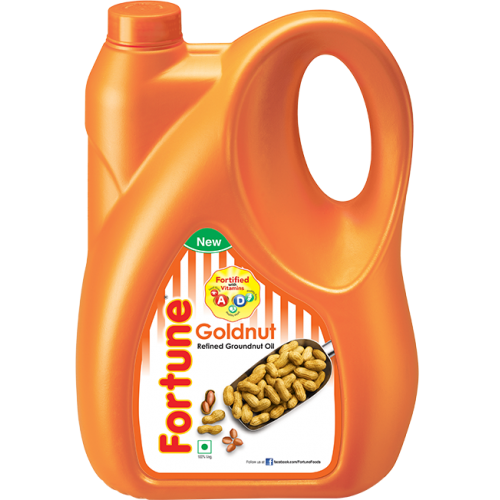 Fortune Refined Groundnut Oil 5 Liter x 1 Bottle
