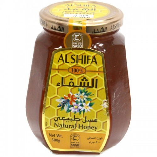 Al Shifa Natural Honey 500g x 1 Bottle