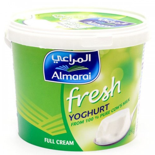 Almarai Yogurt Full Fat 2 Kg x 1 Pack