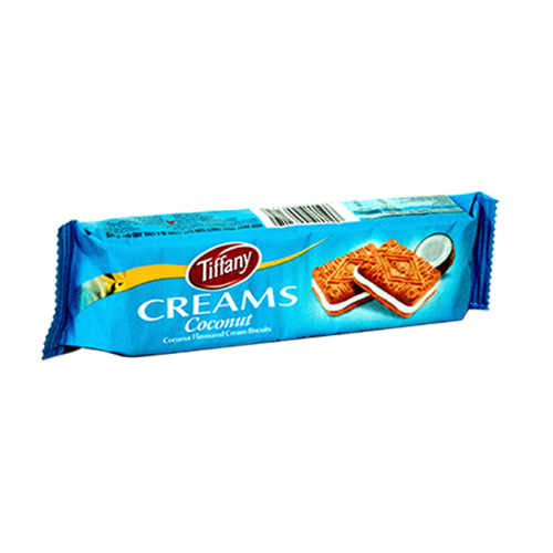 Tiffany Creams Coconut Biscuit 90gm x 1 Pack