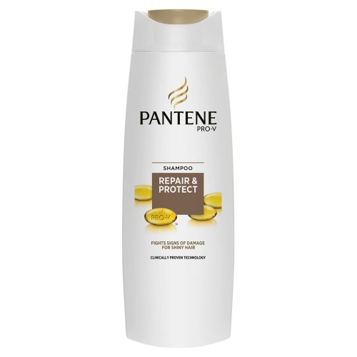 Pantene Repair and Protect Shampoo for Damaged Hair 400ml x 1 Bottle