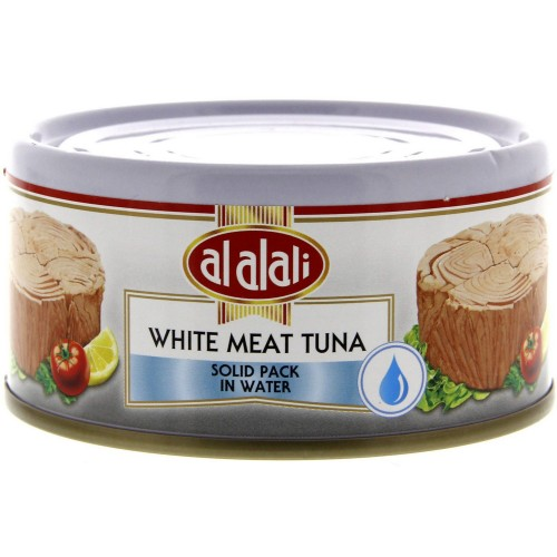 Al Alali White Meat Tuna Solid Pack In Water 170g x 1 Can