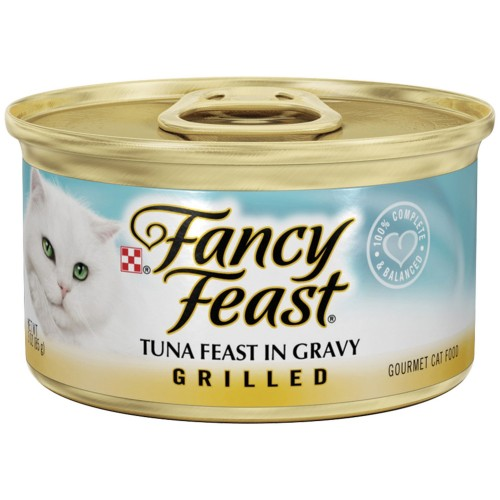 Purina Fancy Feast Grilled Tuna Wet Cat Food 85 gm x 1 Can