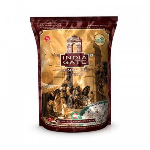 India Gate Basmati Rice Classic 1 Kg x 1 Bag