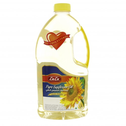 Lulu Sunflower Oil 1.8 Litre x 1 Bottle