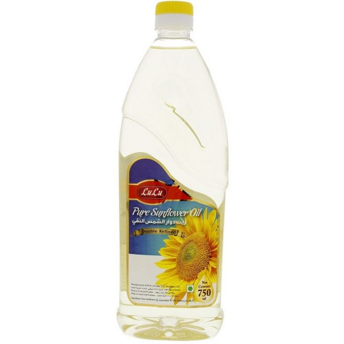 Lulu Pure Sunflower Oil 750ml
