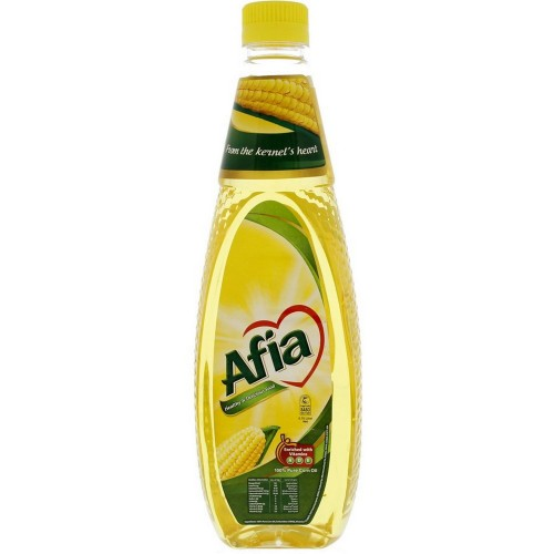 Afia Pure Corn Oil 750ml x 1 Bottle