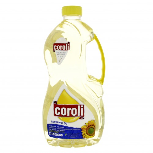 Coroli Sunflower Oil 1.8Litre x 1Bottle