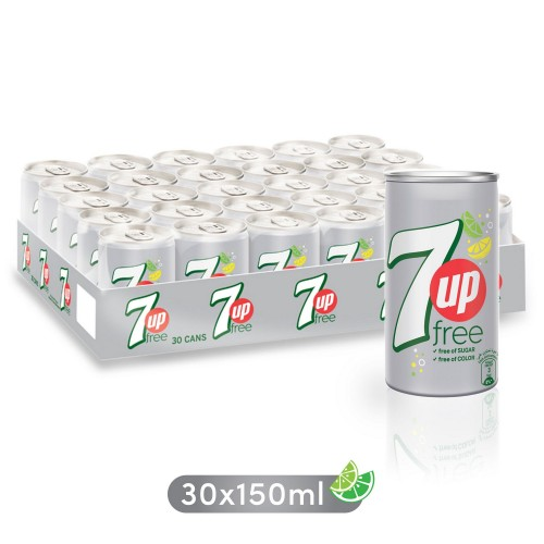 7Up Free 150ml x 30 pcs