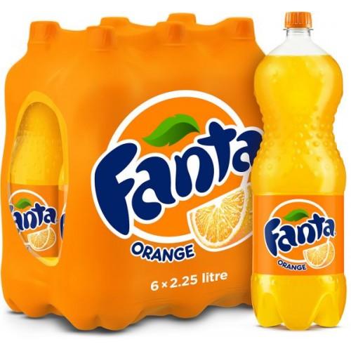 Fanta Orange 2.25 Litre x 6 pcs