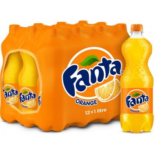 Fanta Orange 1 Litre x 12 pcs