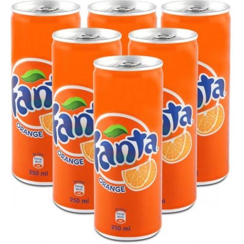 Fanta Orange 250ml x 6 pcs