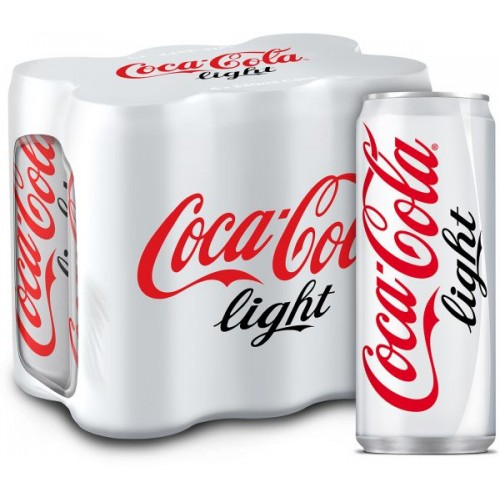 Coca-Cola Light 330ml x 6 pcs