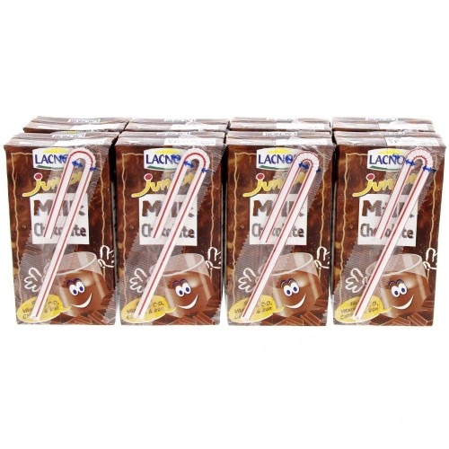 Lacnor Junior Chocolate Flavoured Milk 125ml x 8pcs
