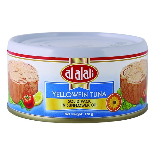 Al Alali Yellowfin Tuna in Sunflower Oil 170g x 1 pc