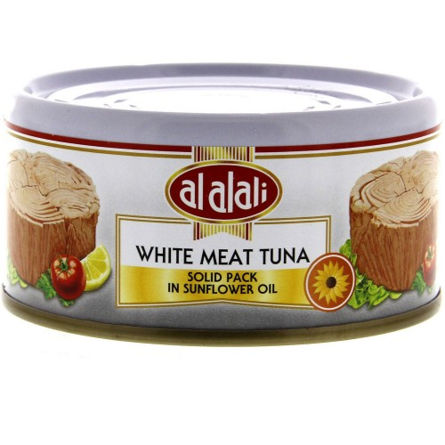 Al Alali White Meat Tuna Solid Pack In Sunflower Oil 170g x 1 pc
