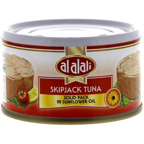 Al Alali Skip Jack Tuna Solid Pack In Sunflower Oil 85g x 1 pc