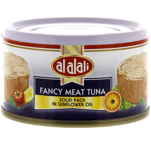 Al Alali Fancy Meat Tuna Solid Pack In Sunflower Oil 85g x 1 pc