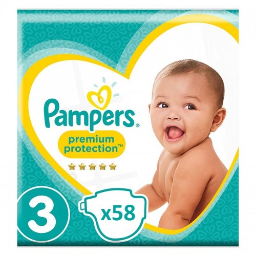 A2. Pampers 4-9Kgs-Size 3-174Diapers