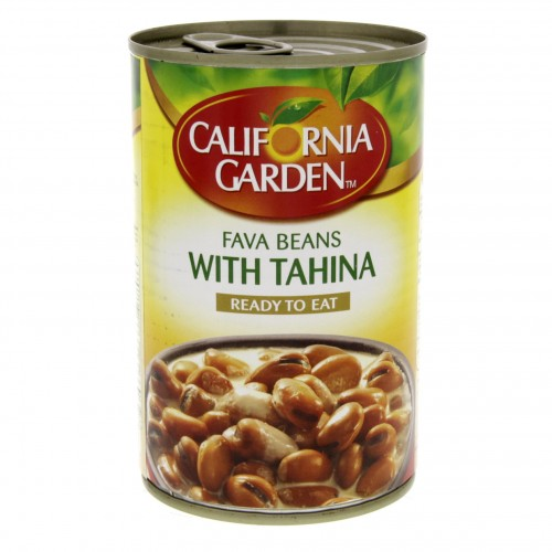 California Garden Fava Beans With Tahina 450g x 1 pc
