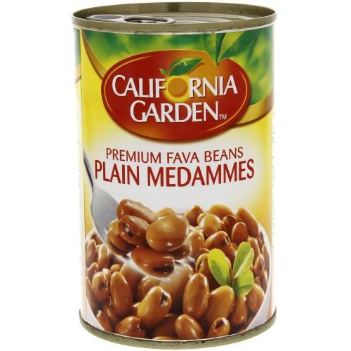 California Garden Premium Fava Beans Plain Medammes 450g x 1 pc