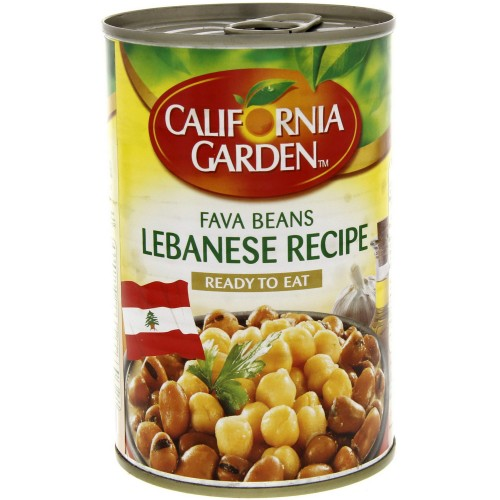 California Garden Fava Beans Lebanese Recipe 450g x 1 pc