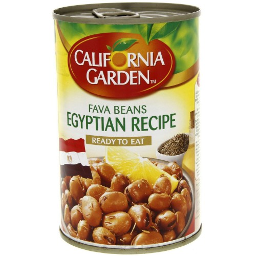 California Garden Fava Beans Egyptian Recipe 450g x 1 pc