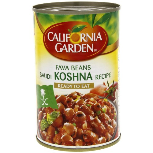 California Garden Fava Beans Saudi Koshna Recipe 450g x 1 pc