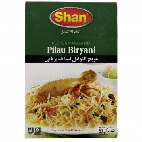 Shan Pilau Biriyani Masala 50g x 1 pc