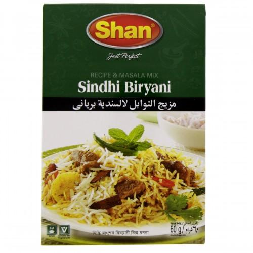 Shan Sindhi Biriyani Masala 60g x 1 pc