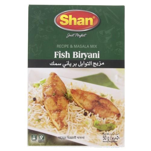 Shan Fish Biryani Masala Mix 50g x 1 pc