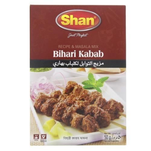 Shan Bihari Kebab Masala Mix 50g x 1 pc